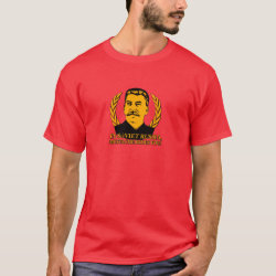 Men's Basic Dark T-Shirt with Mustache Rides You! design