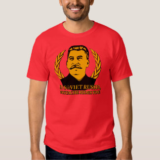 In Soviet Russia, Mustache Rides You! T Shirt