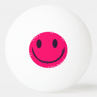 In Stitches Weird Smiley Ping Pong Ball Ping-Pong Ball