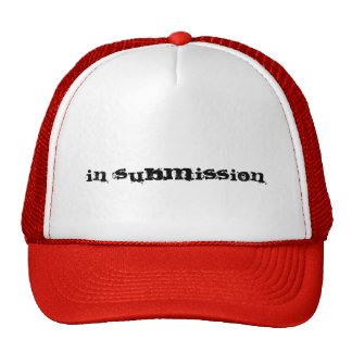In submission trucker hat