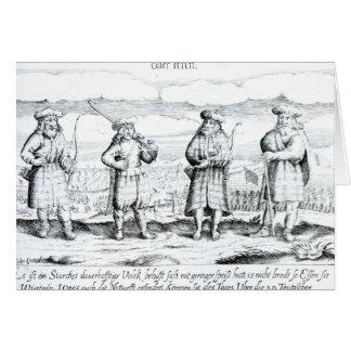 In Such Attire did Irishmen Card