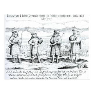 In Such Attire did Irishmen Post Card