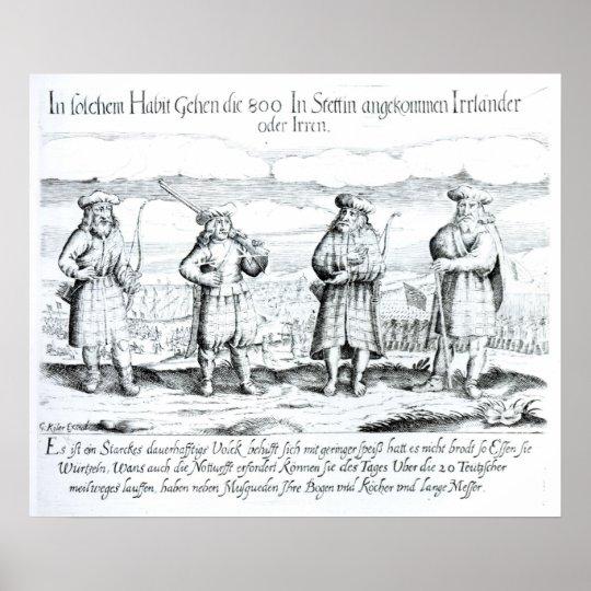 In Such Attire did Irishmen Poster