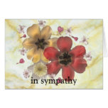 in sympathy stationery note card