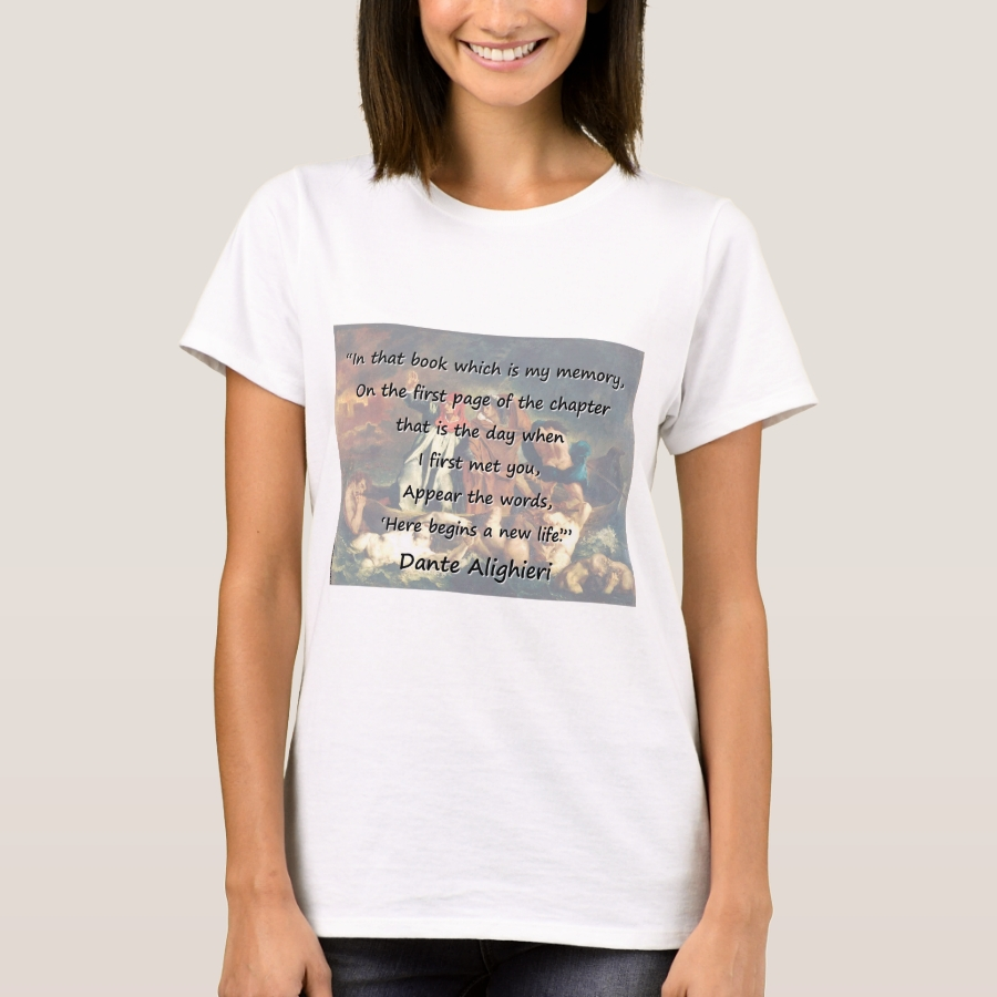 In That Book Which Is My Memory - Dante T-Shirt - Best Selling Long-Sleeve Street Fashion Shirt Designs