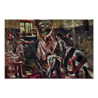 In The Abattoir By Corinth Lovis (Best Quality) Poster