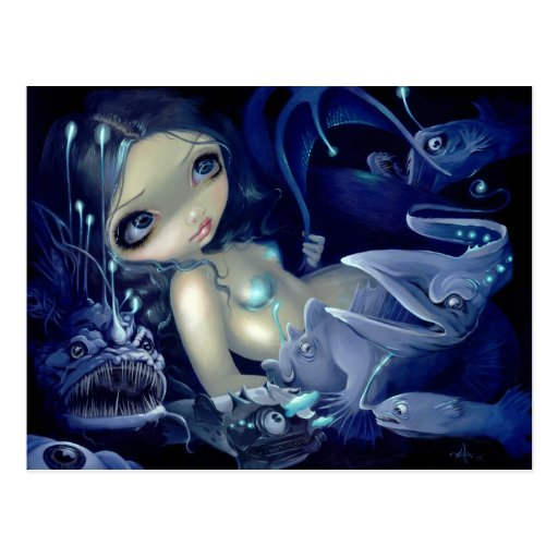"""""""In the Abyss"""" Postcard"""