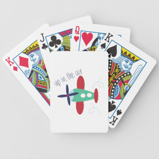 In The Air Bicycle Playing Cards