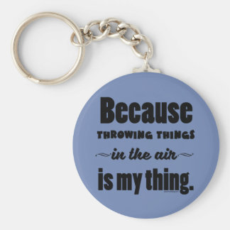 In the Air- Shot Put Discus Javelin Hammer Gift Keychain