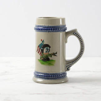 in the airforce beer stein
