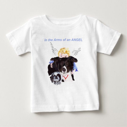In The Arms of An Angel Baby T-Shirt