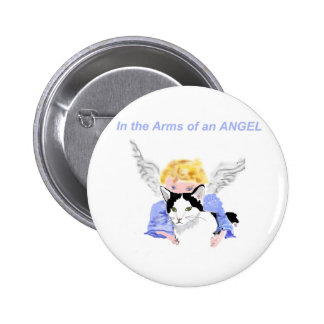 In The Arms of An Angel Pinback Buttons