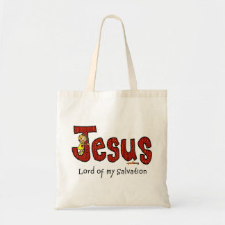 In the arms of Jesus Budget Tote Bag