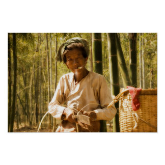 In the Bamboo Grove Poster