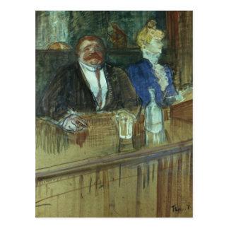In the Bar: The Fat Proprietor Postcard