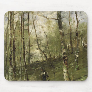 In the Barbizon Woods in 1875 Mouse Pad