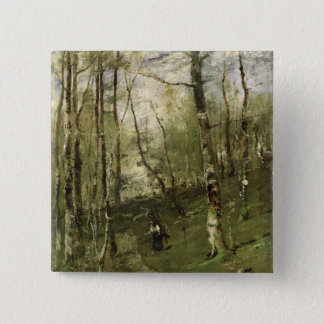 In the Barbizon Woods in 1875 Pinback Button