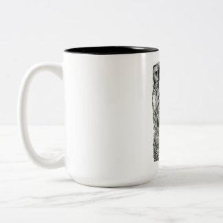In the Basement Two-Tone Coffee Mug