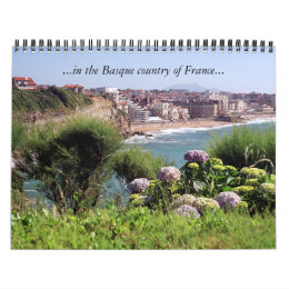 ...in the Basque country of France... Calendar