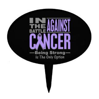 In the Battle Against General Cancer Cake Picks