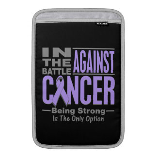 In the Battle Against General Cancer MacBook Sleeves