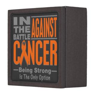 In the Battle Against Kidney Cancer Premium Keepsake Box