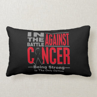 In The Battle Against Melanoma Pillow