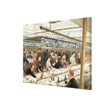 In the Bay, Dinner Time - A Western Ocean Swell, f Canvas Print