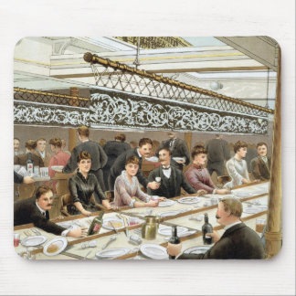In the Bay, Dinner Time - A Western Ocean Swell, f Mouse Pad