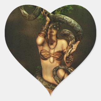 In the Beginning Heart Sticker