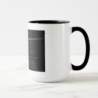 In The Beginning Mug by Joseph James (Hartmann)