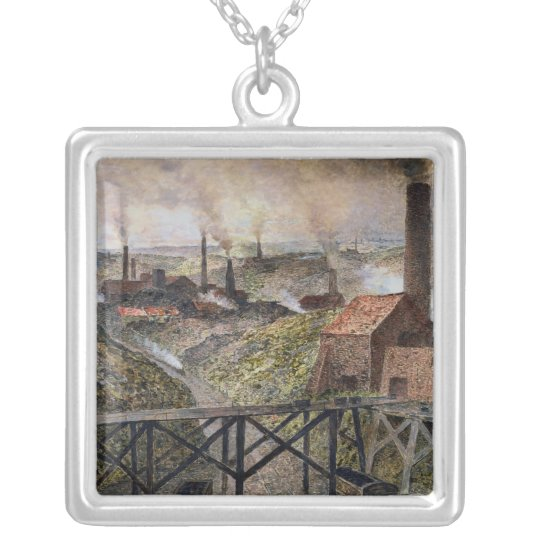 In the Black Country, 1890 Silver Plated Necklace