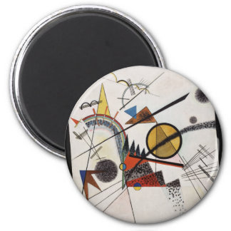 In the Black Square 2 Inch Round Magnet