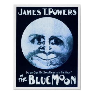 In The Blue Moon Theater Poster
