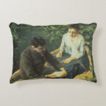 In the Boat, 1888 Accent Pillow