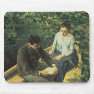 In the Boat, 1888 Mouse Pad