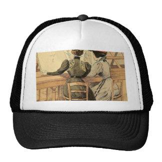 In the Cabinet des Estampes Trucker Hat