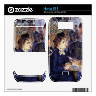 In the Cafe by Pierre Renoir Decals For The Nokia E63