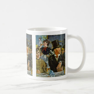 In The Café-Concert By Manet Edouard Mugs