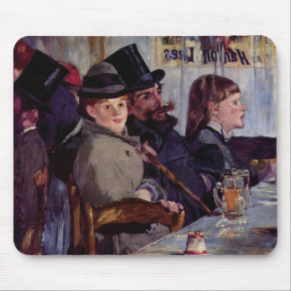 In the cafe: From cabaret Reichshoffen - Manet Mouse Pad