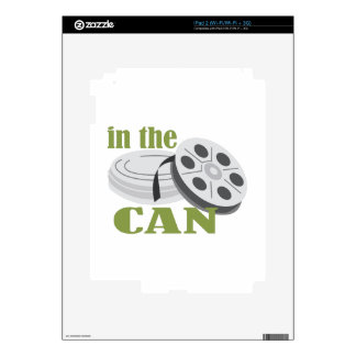 In the Can iPad 2 Skin