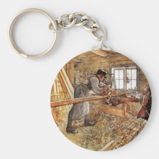 In the Capenter Shop Keychain