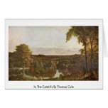 In The Catskills By Thomas Cole Card