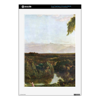 In the Catskills -Thomas Cole by Frederick  Church Skin For PS3