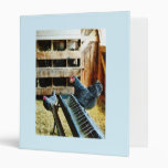 In the Chicken Coop Vinyl Binder