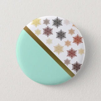In the Christmas Night Pinback Button
