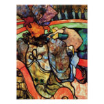 In the circus by Toulouse-Lautrec Print
