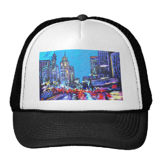 in the city mesh hats