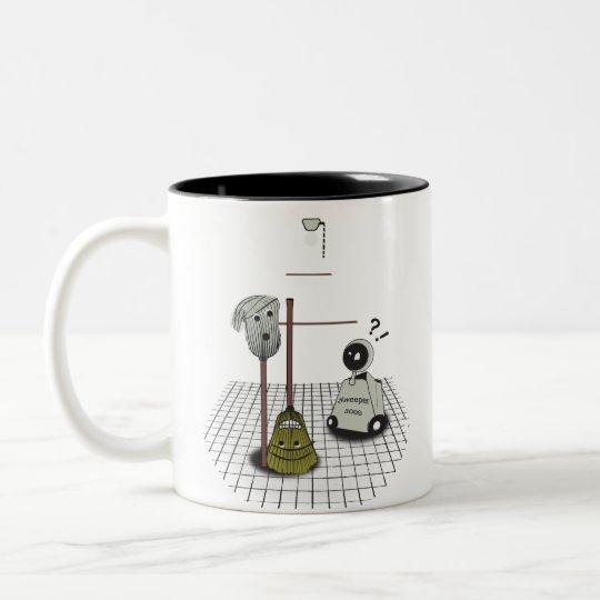 In The Closet? Two-Tone Coffee Mug