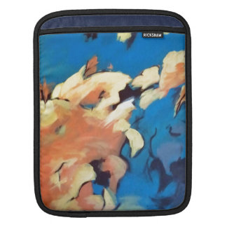 In the Clouds Abstract Art IPad Sleeve
